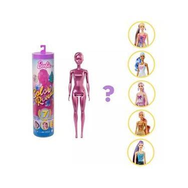Imagem de Boneca Barbie Color Reveal Serie 5 Brilho GWC55 Mattel