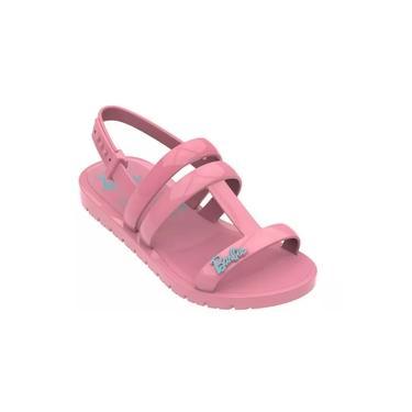 Sandália Infantil Barbie + Brinde Iate -grendene