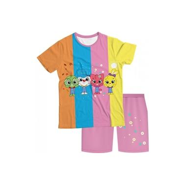 Pijama Infantil I Love to Learn Rosa PJMC