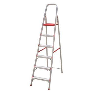 Imagem de Escada domestica de aluminio 6 degraus btf - Botafogo