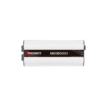 Módulo Amplificador Digital Taramps MD 12000.1 - 12000 Watts RMS 0,5 Ohms
