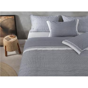 8367cb1096 jogo de cama casal buddemeyer 200 fios 100% algodão philip kaki