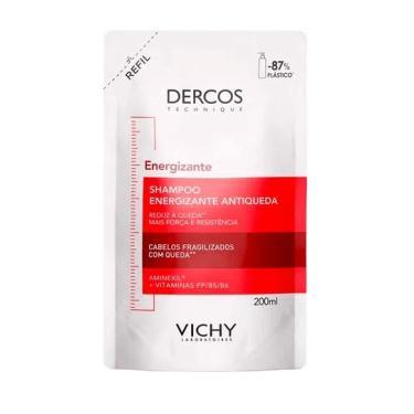 Shampoo Antiqueda Vichy Dercos Energizante Refil 200ml