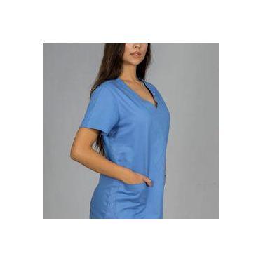 Pijama Cirúrgico Básico Azul FAÍKO Jalecos