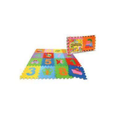 Imagem de Tapete Eva Números E Figuras Atividades - Nig Brinquedos