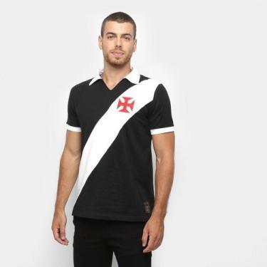 Imagem de Camisa Polo Vasco Paris Masculino - Braziline