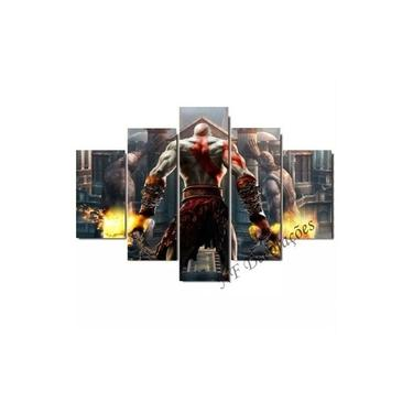 Quadro God Of War Video Game Ps2 Ps3 Ps4 06mmmdf