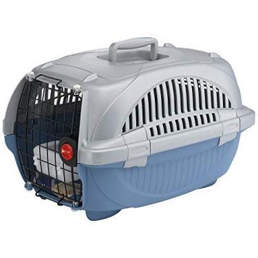 Ferplast Atlas Deluxe 10, Caixa de Transporte para Animais Pequenos, com Acessórios Ferplast para Cães, Pequeno, Variado