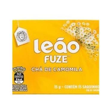 Chá De Camomila Leão Com 15 Saquinhos- Kit 2 Caixas