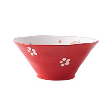 Imagem de DOITOOL Tigela de cerâmica doméstica para frutas, salada, tigela de sobremesa, tigela de macarrão instantâneo para restaurante em casa (15 cm)