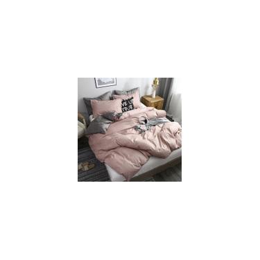 Imagem de Jogo de cama solteiro king 6 peças com edredom rose vintage