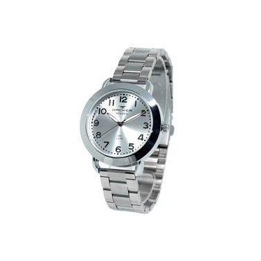 38bb5d3e5c1 Relógio Feminino Backer Analógico 3621123F - Prata
