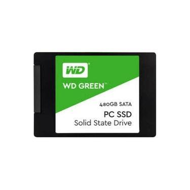 "HD SSD WD Western Digital 480GB SATA 6Gb/s 2.5"" - WDS480G2G0"