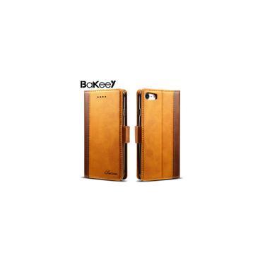 Chegada nova Bakeey Híbrido Cartão Carteira Cor Sots Kickstand Capa Traseira Protetora Caso Para iPhone 7/8 4.7 polegadas para Iphone X