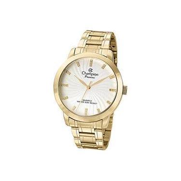 dbf8760d23b Relógio Feminino Champion Analógico Social CN29276H