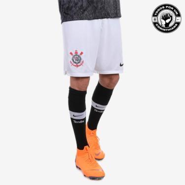 Shorts Nike Corinthians 2018 19 Torcedor Masculino c6a82643e63f6