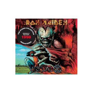 Cd Iron Maiden -virtual Xi (1988) - Remastered - Embalagem Em Digipack