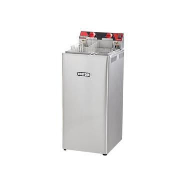 Fritadeira Elétrica Industrial Croydon Água e Óleo 27 Litros 8000W FA28 220 Volts