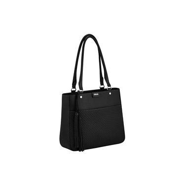 Bolsa feminina em couro, modelo tiracolo Sagga 86