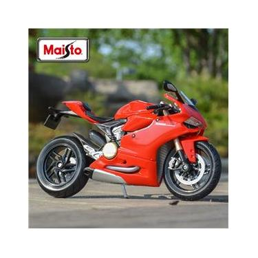 Imagem de Moto Ducati 1199 Panigale - Miniatura - Escala 1/12 - Maisto