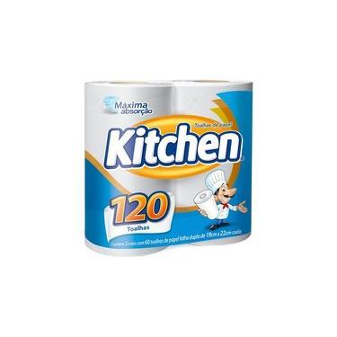 Papel Toalha Kitchen 120 Folhas