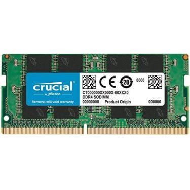 Memoria RAM P/Notebook Crucial 16gb DDR4-2666 2666MHz 1.2V - CT16G4SFRA266