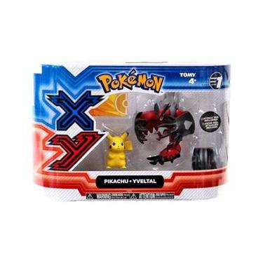 Pokémon-Xy 2 Pikachu E Yveltal Tomy 18101