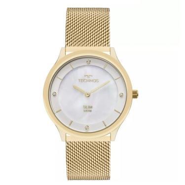 2b482b9b366 Relógio Feminino Technos Elegance Ladies GL20HH 1B Dourado