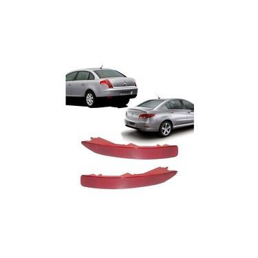 Lanterna Refletor do Parachoque C4 Pallas 2007 2008 2009 2010 Peugeot 408 2011 2012 2013 Esquerdo