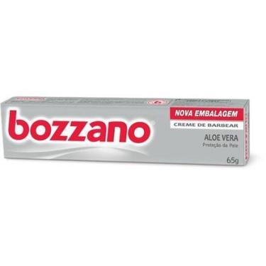 Creme de Barbear Bozzano Aloe Vera 65g Bozzano
