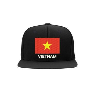 Boné Bordado - Bandeira Vietnam