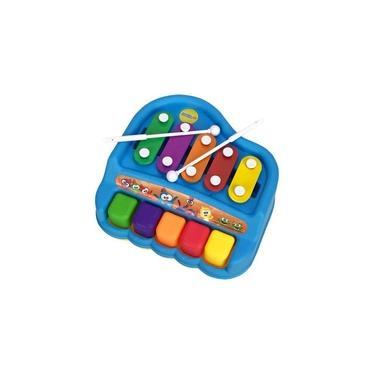 Imagem de Piano Xilofone de Brinquedo - Galinha Pintadinha - Yes Toys