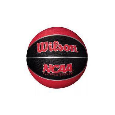 6a069e238d Bola De Basquete - Ncaa - Vermelha - Wilson