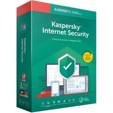 Antivirus Kaspersky Kis com 3 Licenças Internet Security - KL1941K5DFS-8