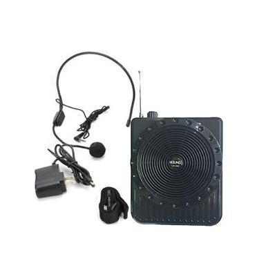 Caixa De Som Cintura Portatil com Microfone FM Megafone