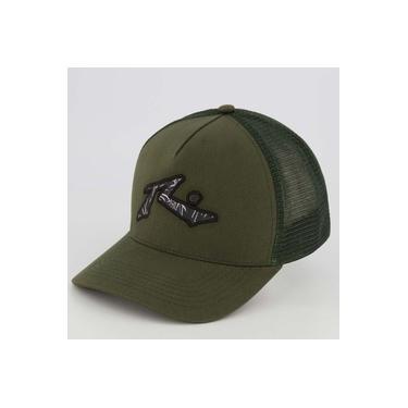 Boné Rusty Camouflage Verde Militar