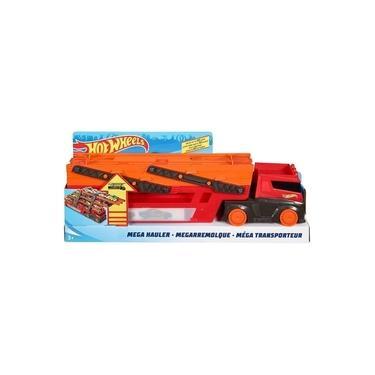 Imagem de Hot Wheels Mega Caminhão Red Hauler Mattel - GHR48
