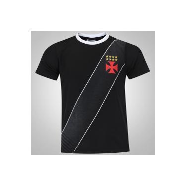 Camisas de Times de Futebol Casuais Vasco da Gama Braziline ... b8d1828957088