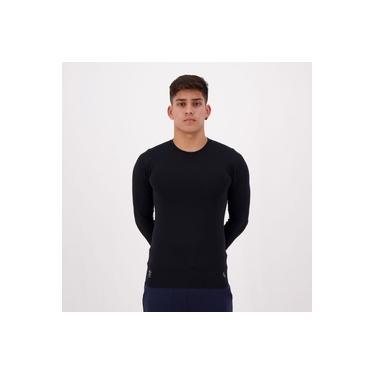Camisa Térmica Lupo Proteção UV Preta