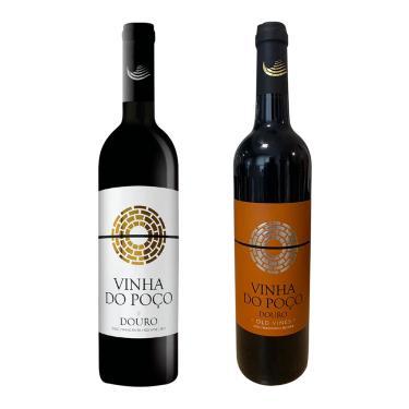 KIT VINHO TINTO PORTUGUÊS VINHA DO POÇO D.O.C. + VINHA DO POÇO D.O.C. OLD VINES - 750ML