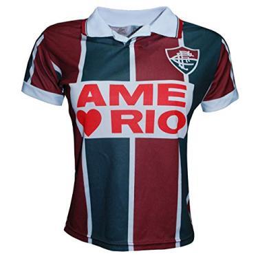 Camisa Liga Retrô Fluminense 1995 Feminino