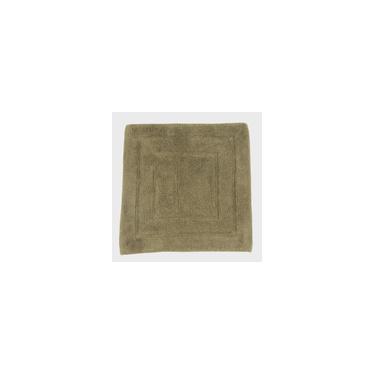 Imagem de Tapete De Banheiro Algodão Quadrado Vizapi Assam 60X60Cm Verde Oliva
