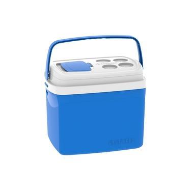 Imagem de Caixa Térmica Tropical Azul 32 Litros Soprano