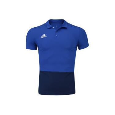 Camisa Polo adidas Condivo 18 - Masculina - AZUL AZUL ESC adidas d6752cb591d98