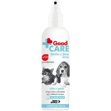 Banho a Seco Spray Mundo Animal Good Care para Cães e Gatos - 200 mL
