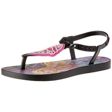 Slide Ipanema Barbie Candy Meninas S: Preto/G: Preto/Rosa 30
