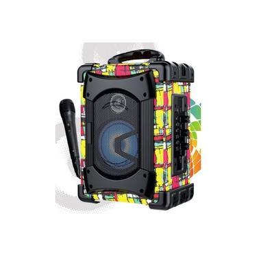 Mini Caixa De Som,fm,usb,cartão,bateria,alça