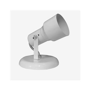 Spot Luminaria De Teto Direcionavel Sobrepor 1 E27 Branco