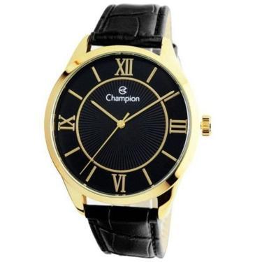 6aff32d8c62 Lux GoldenComprar · Relógio Masculino Champion Analógico CN20579P - Dourado  Preto