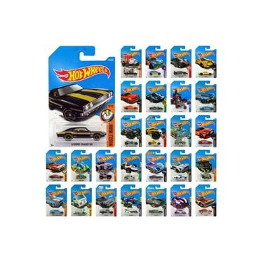 Imagem de Kit Carrinhos Hot Wheels Veículos Básicos Com 5 Mattel